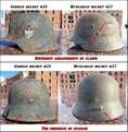 World War 2 Axis helmets