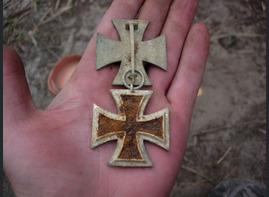 Iron cross 1st class and iron cross 2nd class