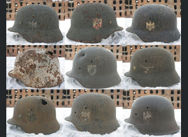 New German helmets from Stalingrad
