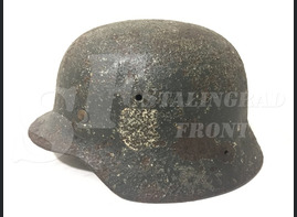 Steel helmet M40 from Murmansk