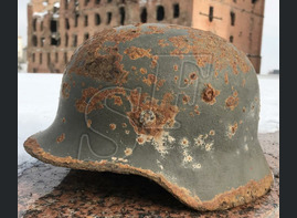 Helmet M40 / from Stalingrad