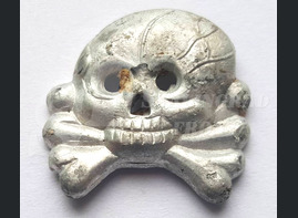 Skull of the buttonhole tank of the Wehrmacht