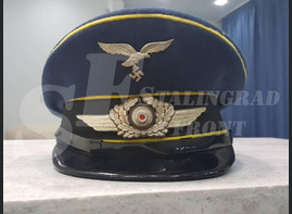 Cap of Luftwaffe officer [Historical reconstruction]