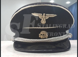 Cap of SS officer [Historical reconstruction]