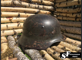 Steel helmet M40 Double repainted