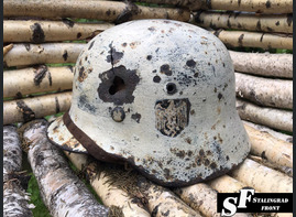 Steel helmet M35 Winter camo