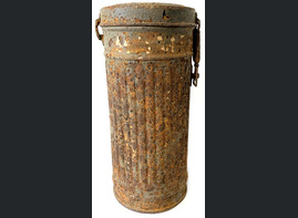 Gas mask canister / from Leningrad