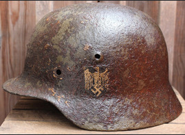 Wehrmacht helmet M40 / from Moscow
