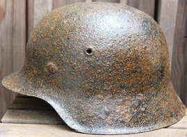 German helmet M42 / from Koenigsberg