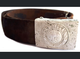 "Belt with buckle ""Gott mit Uns"""