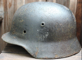 German helmet M40 / from Koenigsberg