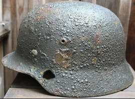 German helmet M35 / from Vyazma
