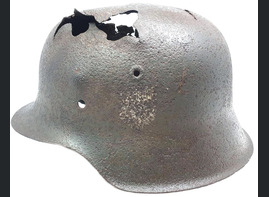 German helmet M42 / from Smolensk