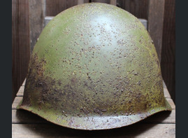 Soviet helmet SSh39 / from Vyazma