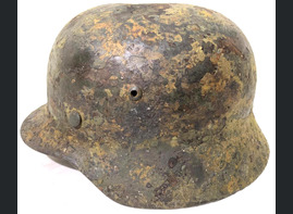 German helmet M35 / from Leningrad