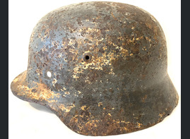 German helmet M35 / from Ramushevo