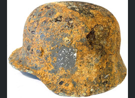 German helmet M35 / from Demyansk