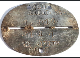 Dogtag Aufkl.St.1.H.10 / from Stalingrad