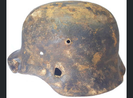 German helmet M40 / from Kursk