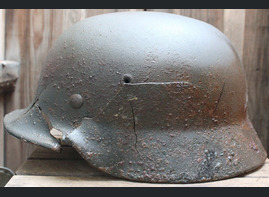 German helmet M40 / from Kaluga
