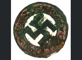 Party Badge of NSDAP / from Karelia