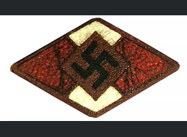 Hitler Jugend membership badge / from Koenigsberg