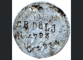 Romanian dogtag / from Ukraine