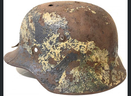 German helmet M35 / from Pskov