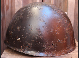 Finnish helmet M40 Wartsila / from Karelia