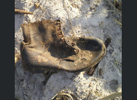 Guard boot / from Stalingrad