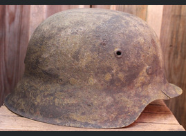 German helmet M42 / from Konigsberg