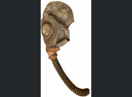 Soviet Gas Mask / from Leningrad
