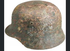 German helmet M35 / from Staraya Russa