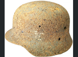 German helmet M0 / from Stalingrad