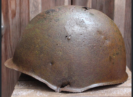 Soviet helmet SSh39 / from Tver