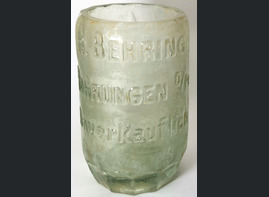 A mug from a bottle / from Konigsberg