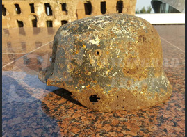 "Steel helmet M35 from ""Ezhovka"""