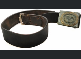 Luftwaffe belt with buckle / from Konigsberg