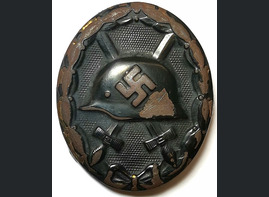 Black Wound Badge / from Crimea