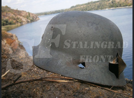 Steel helmet M35 from Kharkov