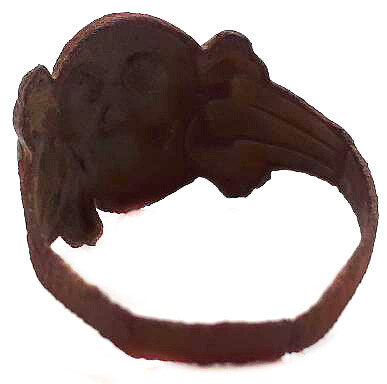 Skull ring / from Kursk