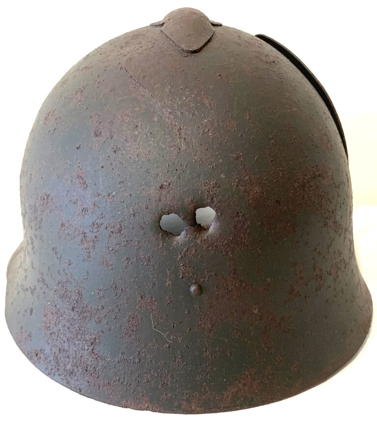 Soviet helmet SSh36 / from Murmansk