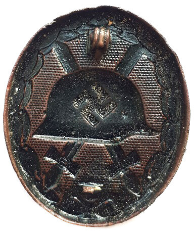 Black Wound Badge / from Belarus