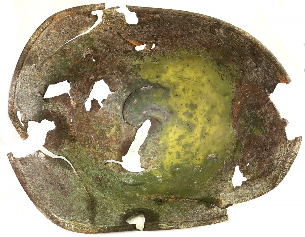 Romanian helmet / from Stalingrad