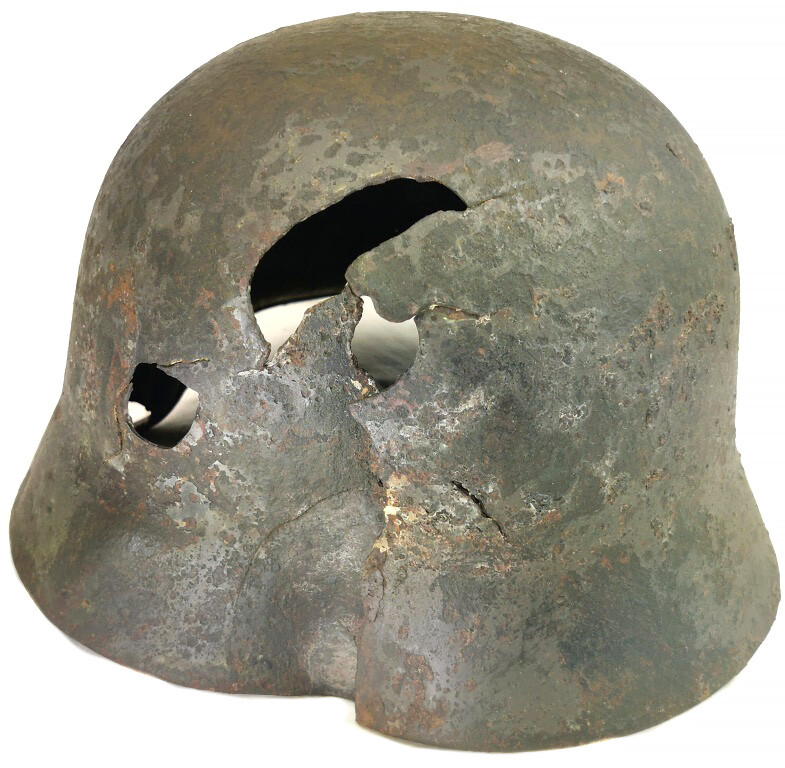 German helmet M35 DD / from Leningrad