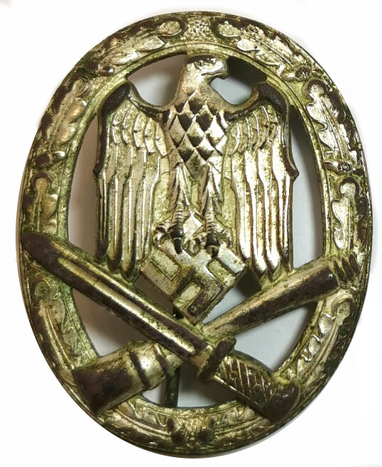 Stamped General Assault Badge / from Mogilev