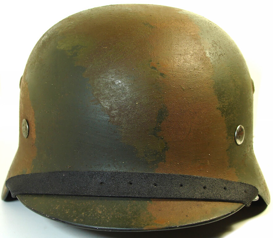 Restored German helmet M35 DD, Wehrmacht