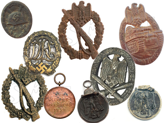 German WW2 awards and badges for sale