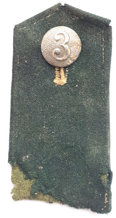 WW2 German shoulder mark / from Leningrad