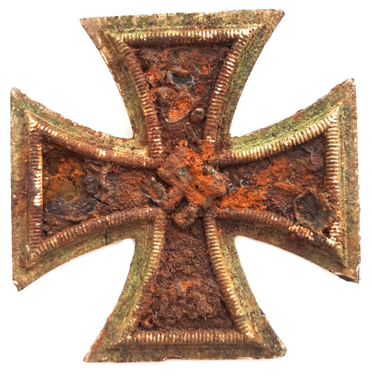 Iron Cross 1st class / from Stalingrad